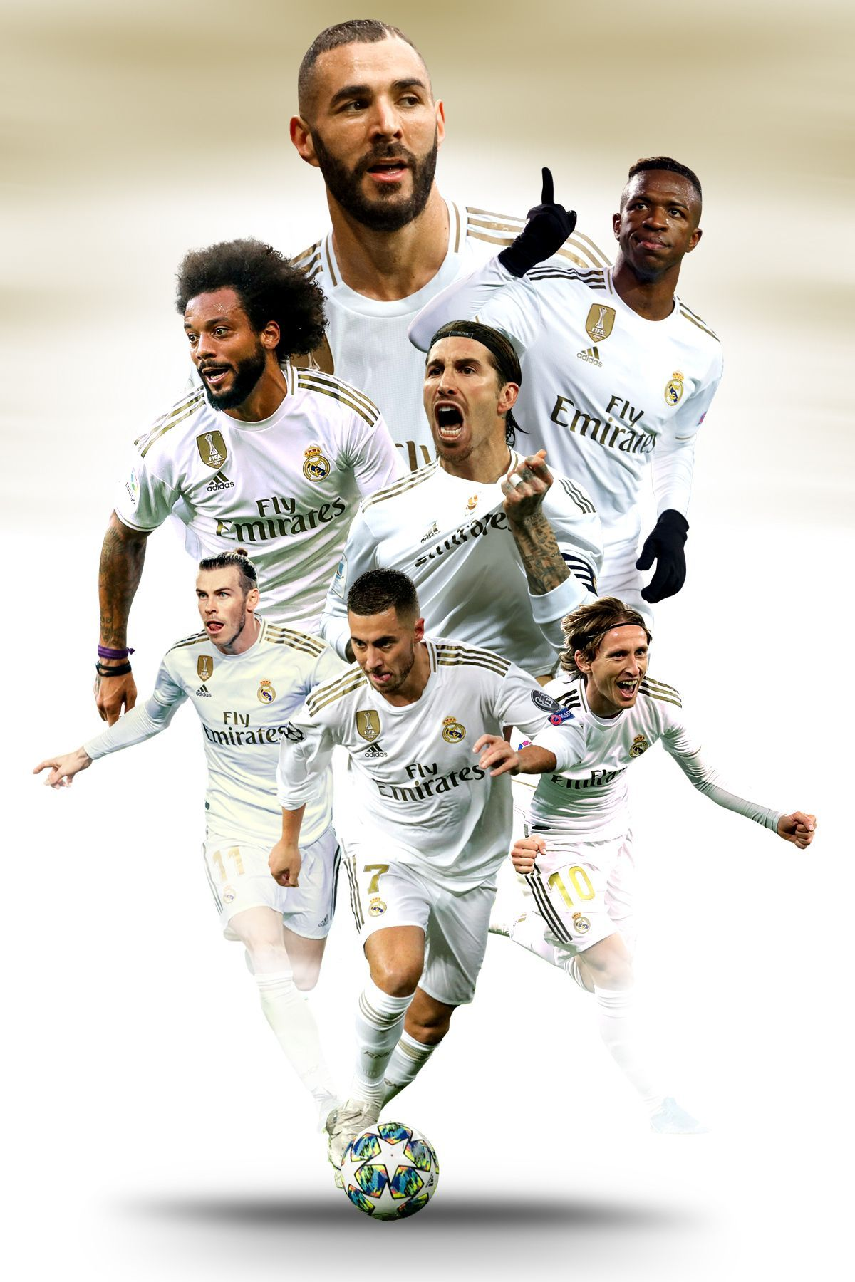 Real Madrid 4K HD Wallpapers For PC & Phone The Football Lovers