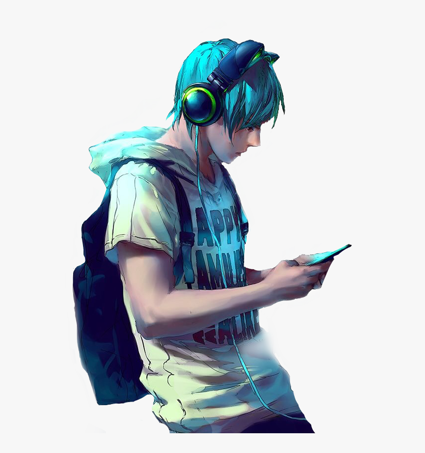 Anime Boy Gaming Wallpapers Wallpaper Cave