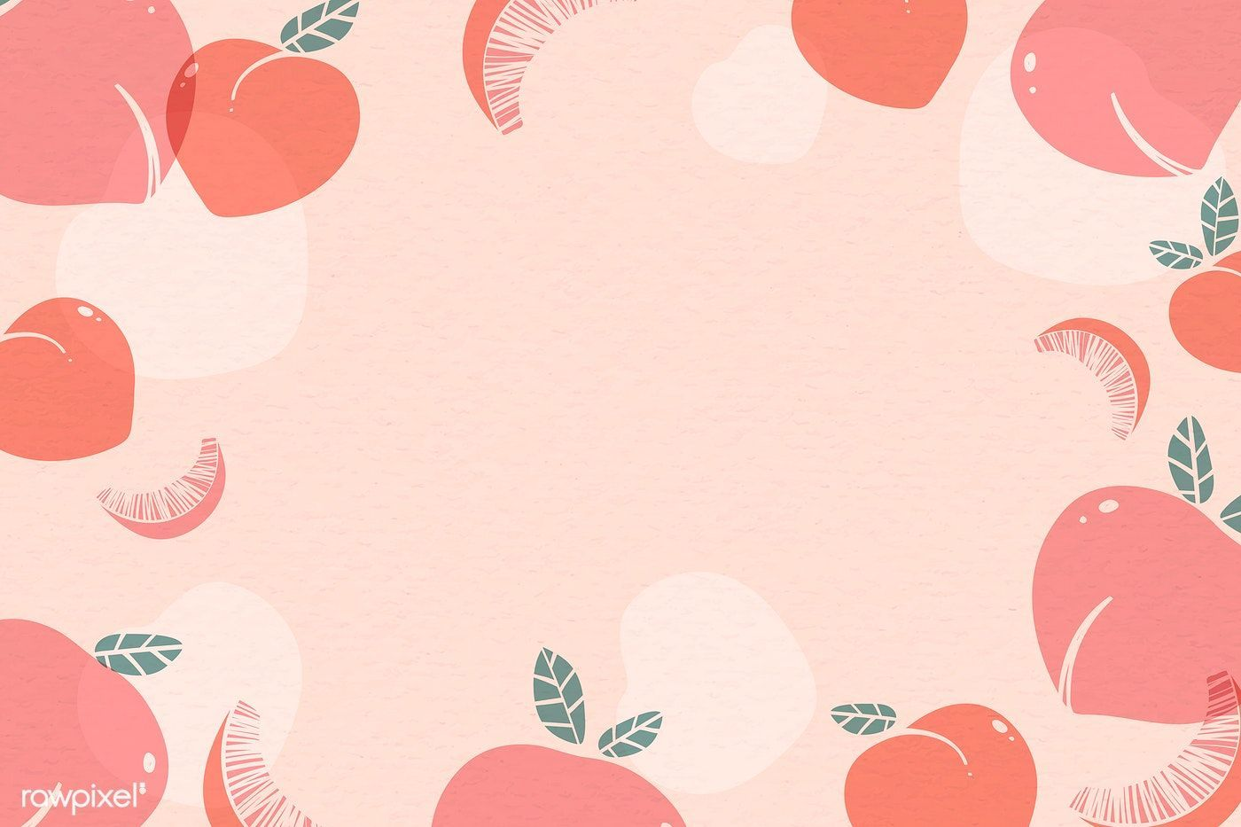 Cute Computer Peach Wallpapers Wallpaper Cave