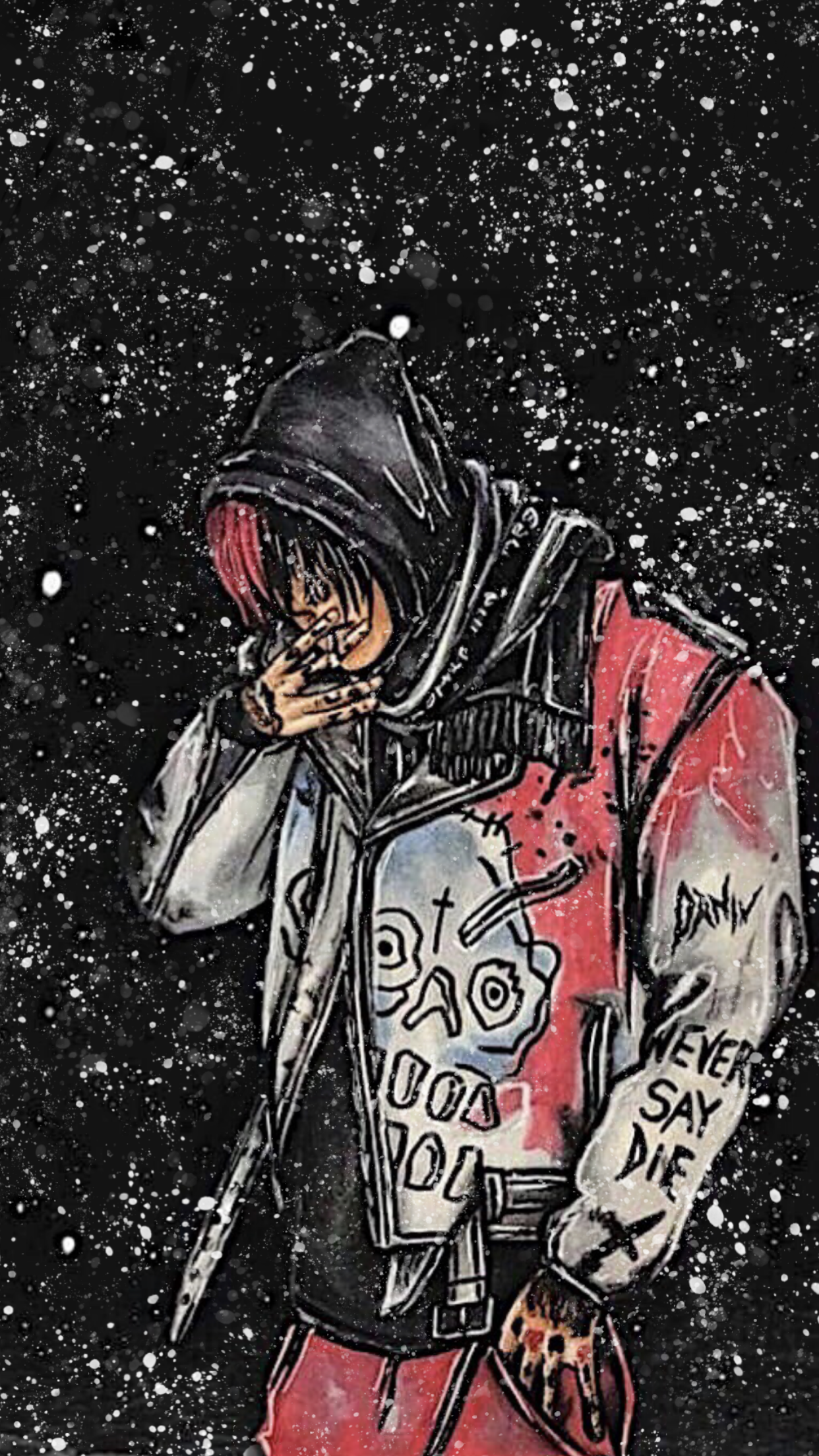Lil Peep iPhone Wallpapers - Wallpaper Cave