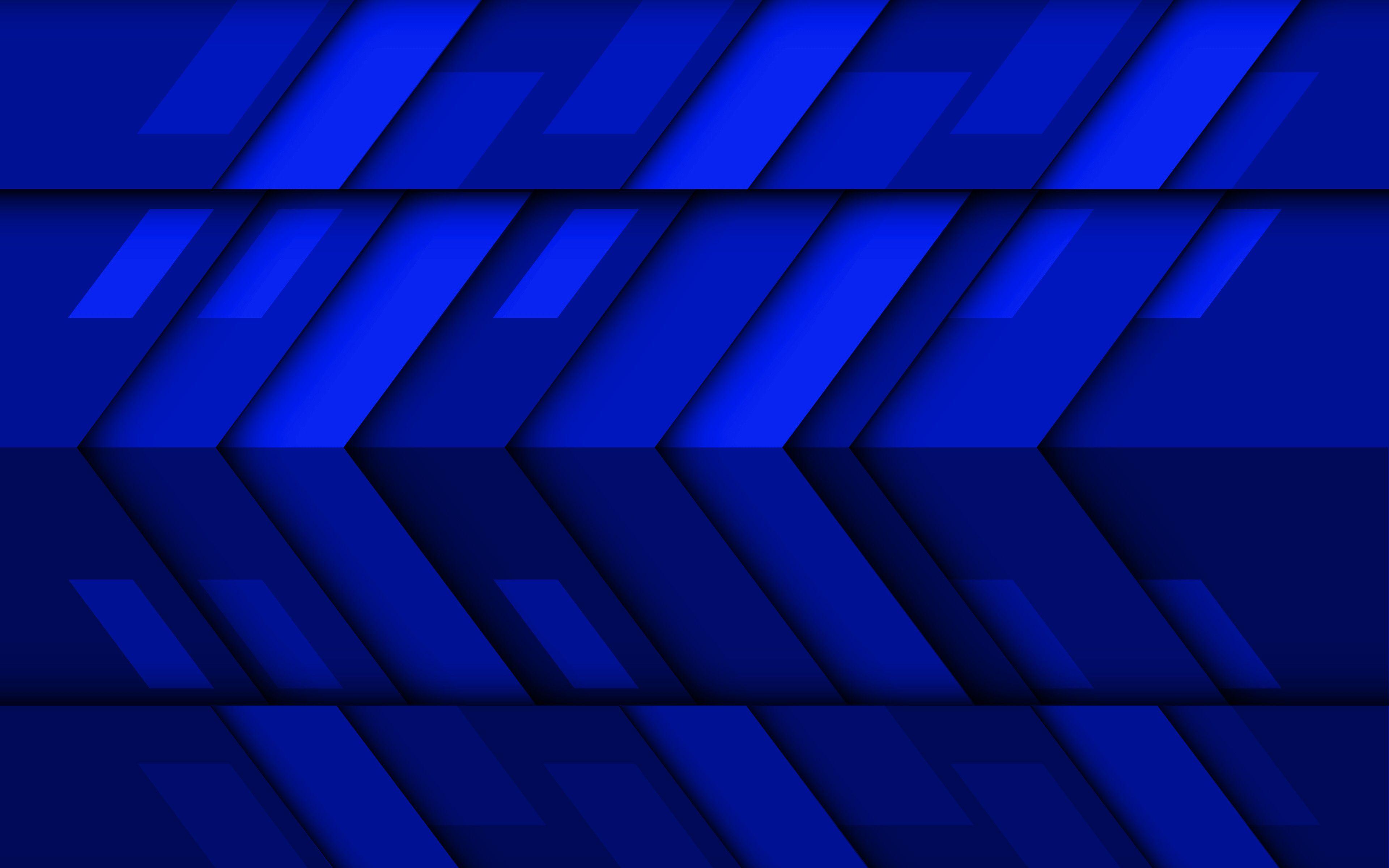Dark Blue Geometric Wallpapers - Wallpaper Cave