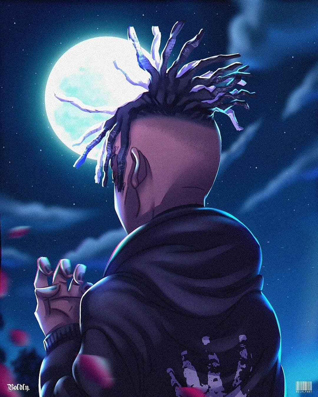 Cartoon XXXTentacion Anime Wallpapers - Wallpaper Cave