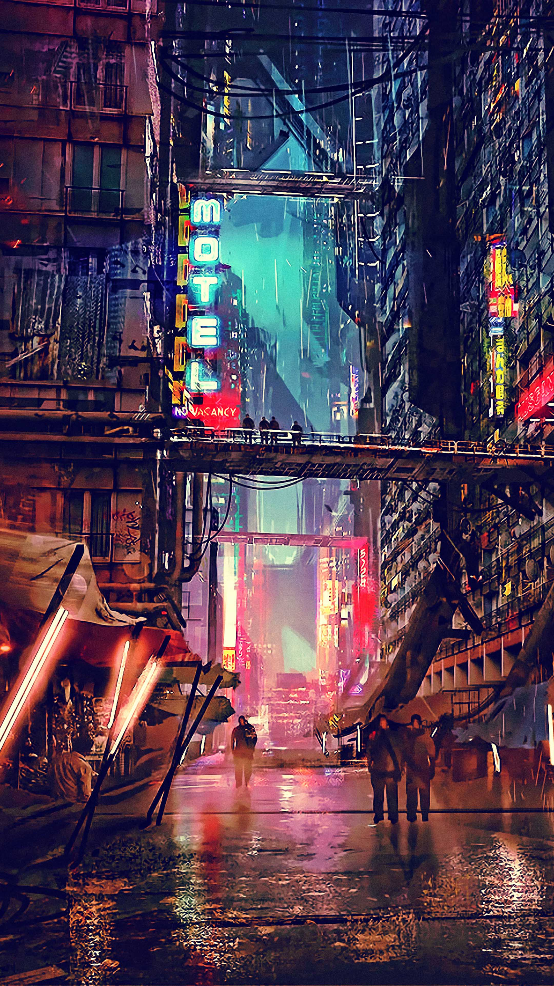 Cyberpunk HD Phone Wallpapers - Wallpaper Cave
