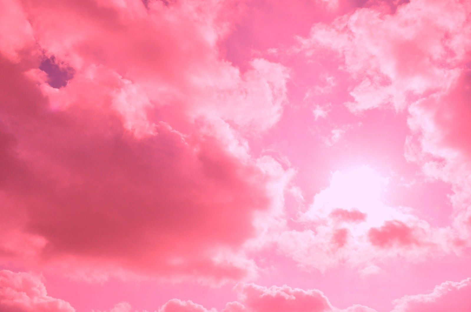 Pink Clouds Wallpapers