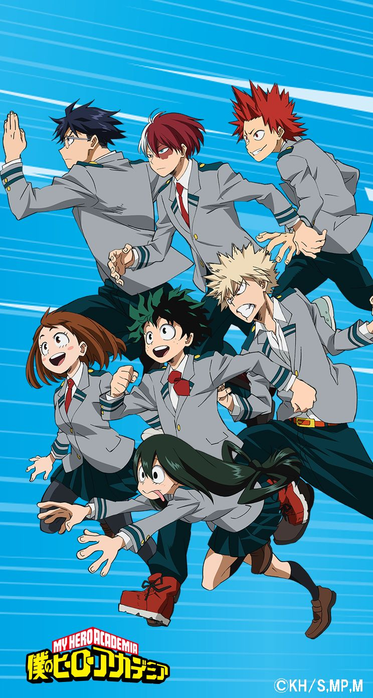 Cool Anime MHA Wallpapers - Wallpaper Cave