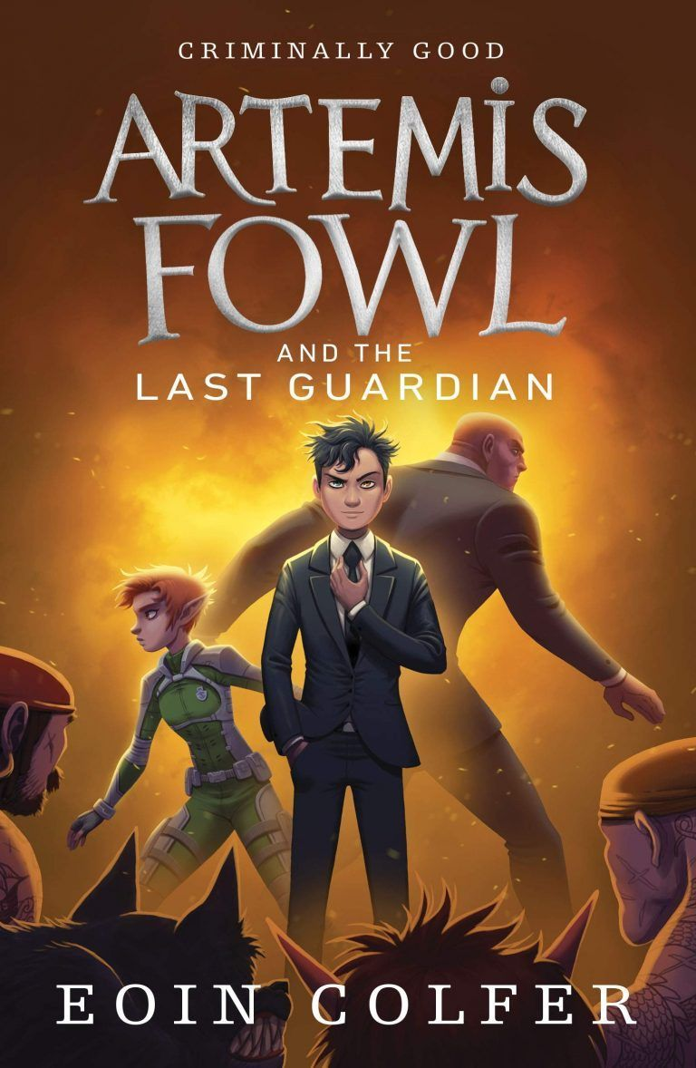 New Artemis Fowl UK Covers!