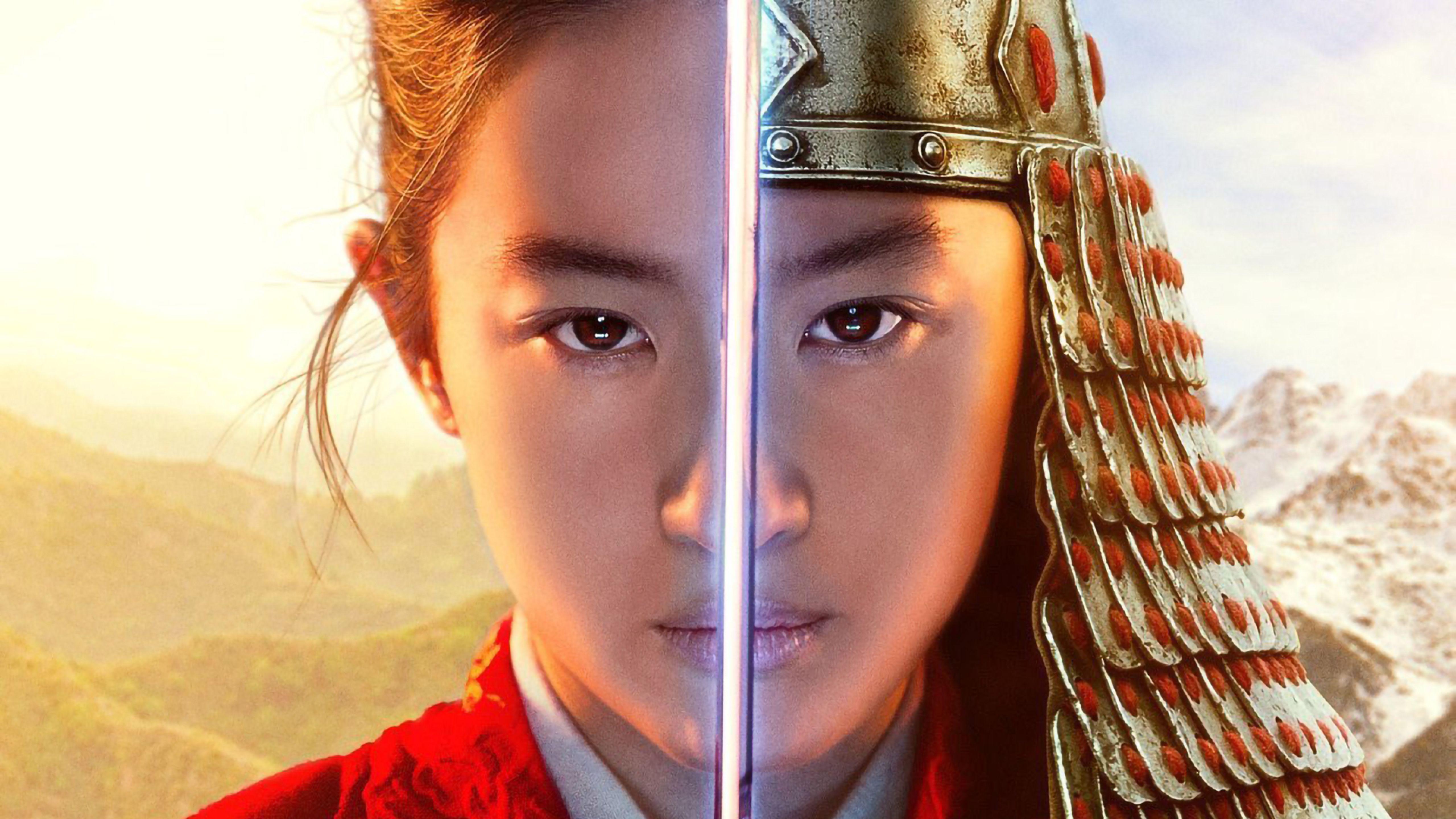 Mulan As Warrior Poster Wallpapers Wallpaper Cave