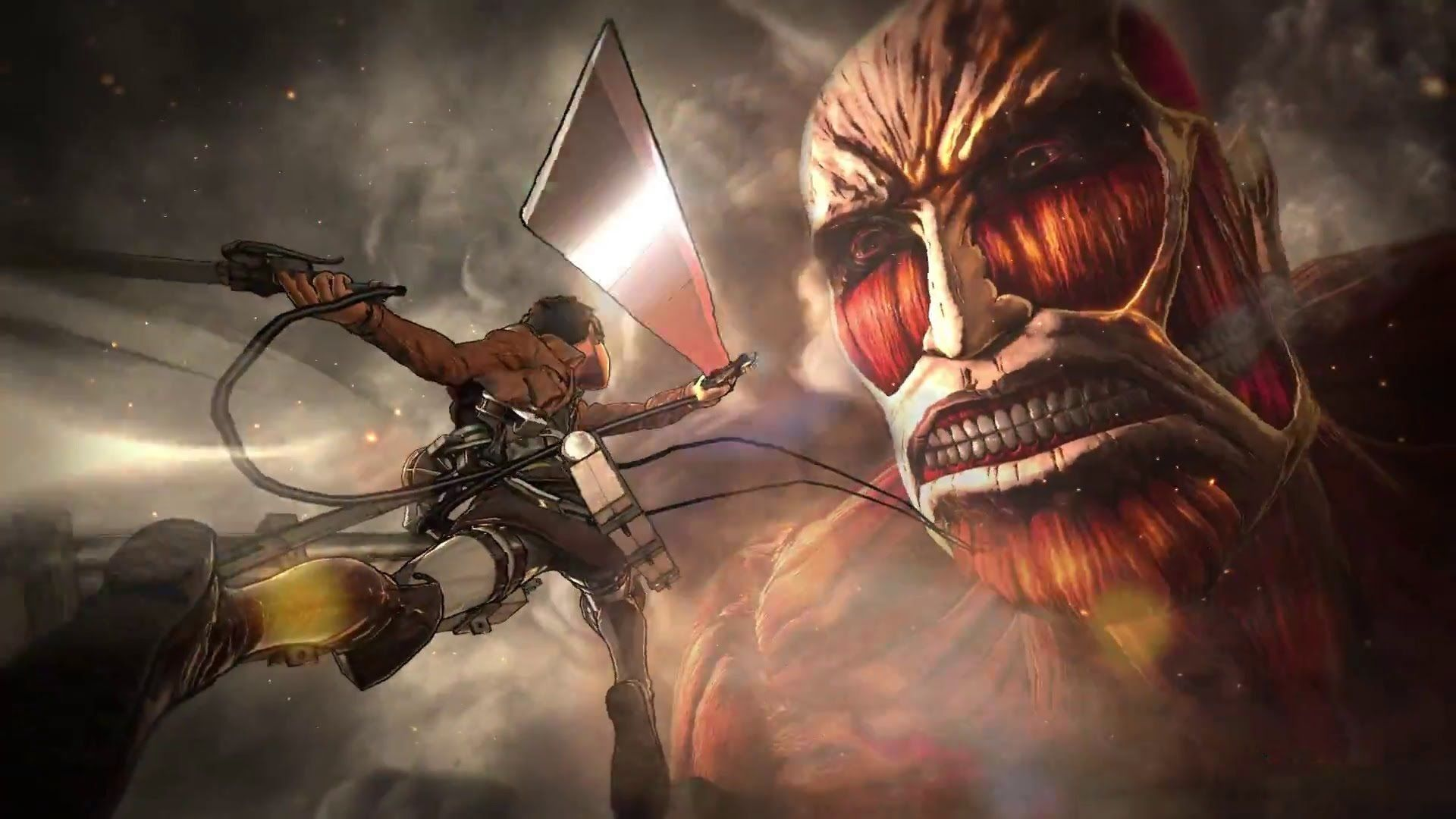 Attack On Titan Aesthetic Ps4 Wallpapers Wallpaper Cave