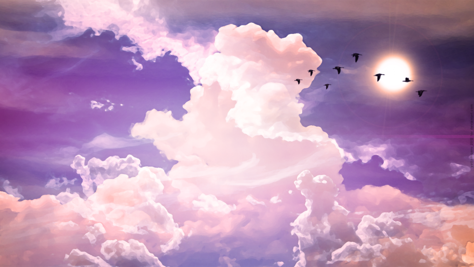 Pink Cloud Computer Wallpapers - Wallpaper Cave