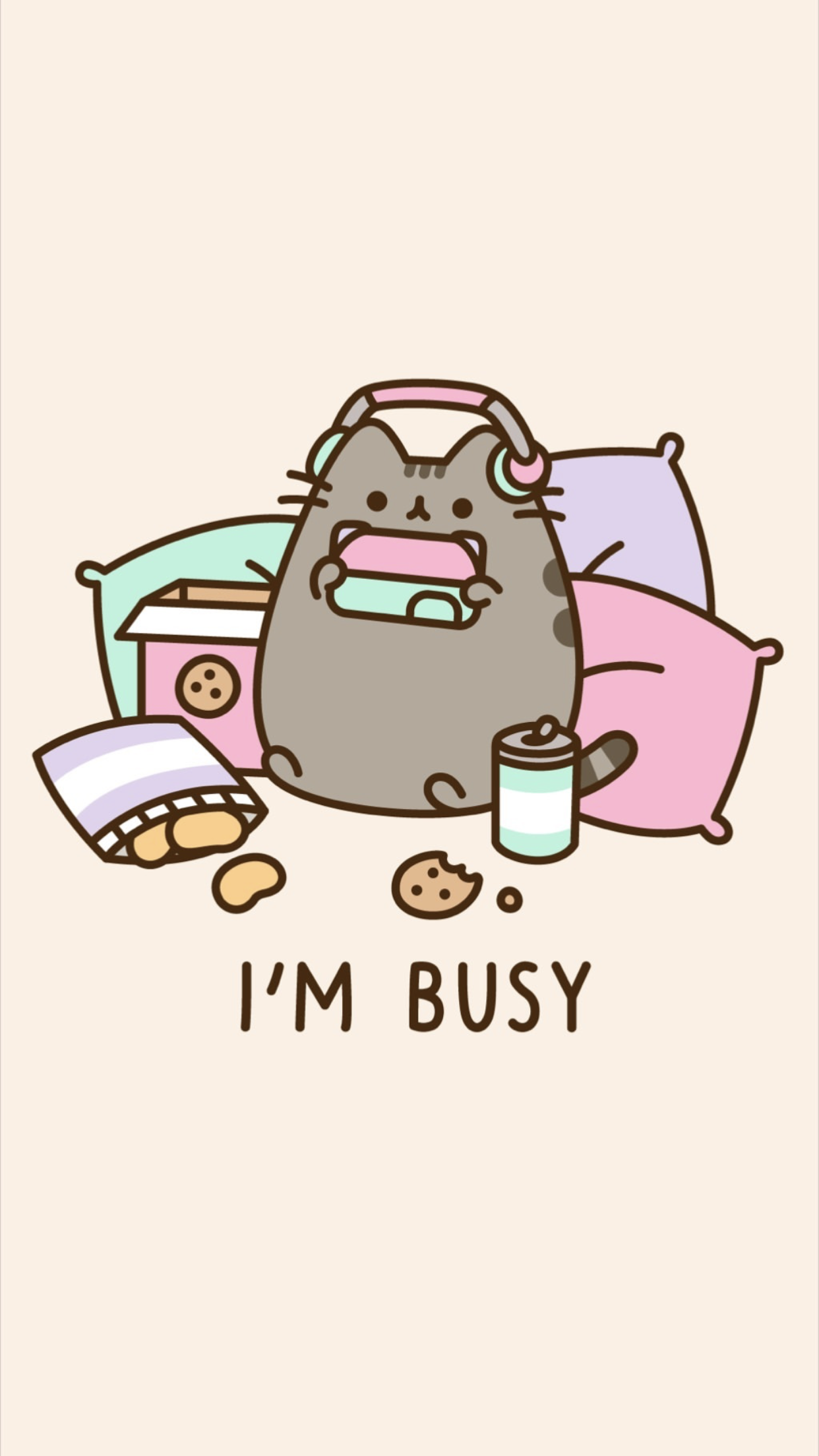 Pusheen Cat Summer Wallpapers Wallpaper Cave