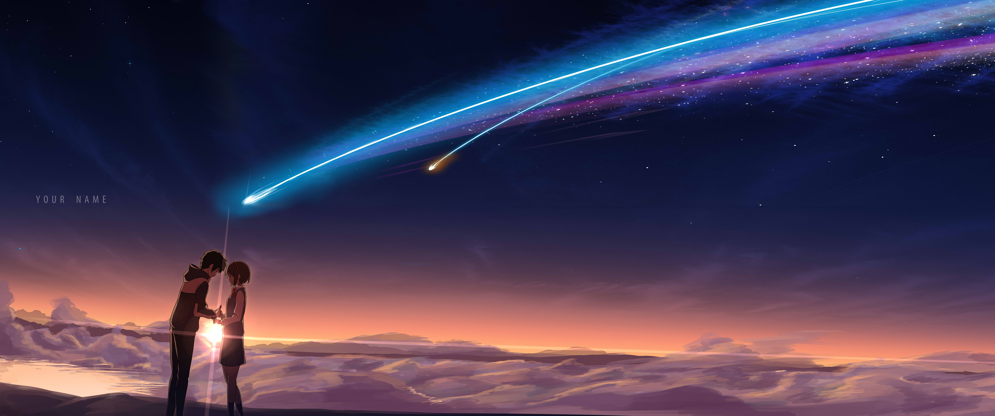 Your Name Anime Aesthetic Wallpapers - Wallpaper Cave