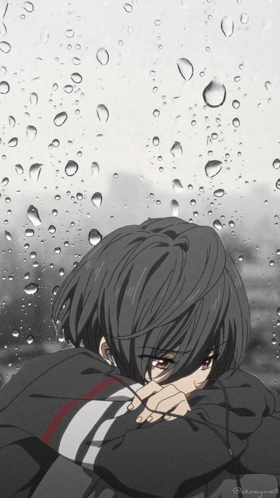 Sad Boy Anime Phone Wallpapers Wallpaper Cave