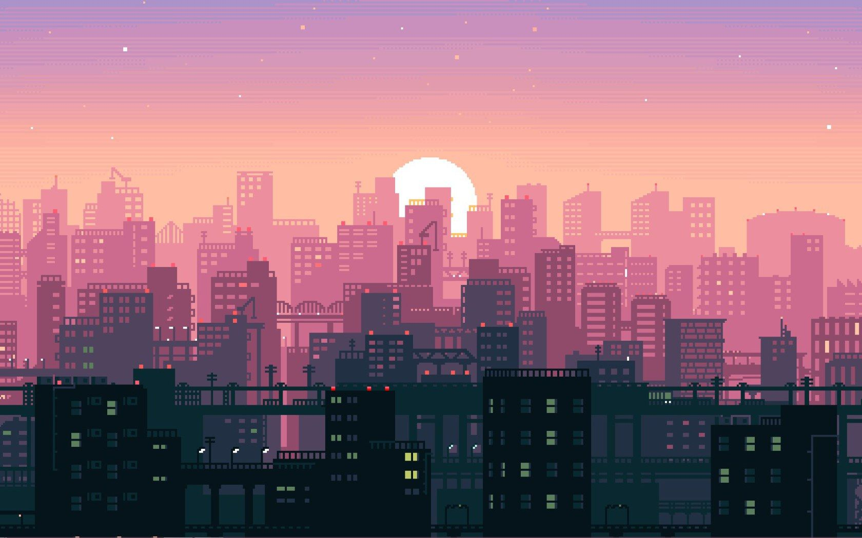 Pink Aesthetic PC Anime Wallpapers - Wallpaper Cave