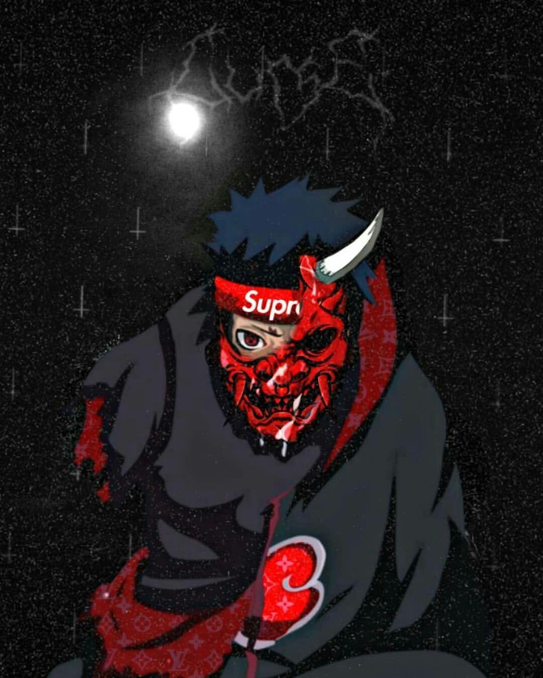 Black Supreme Anime Wallpapers - Wallpaper Cave