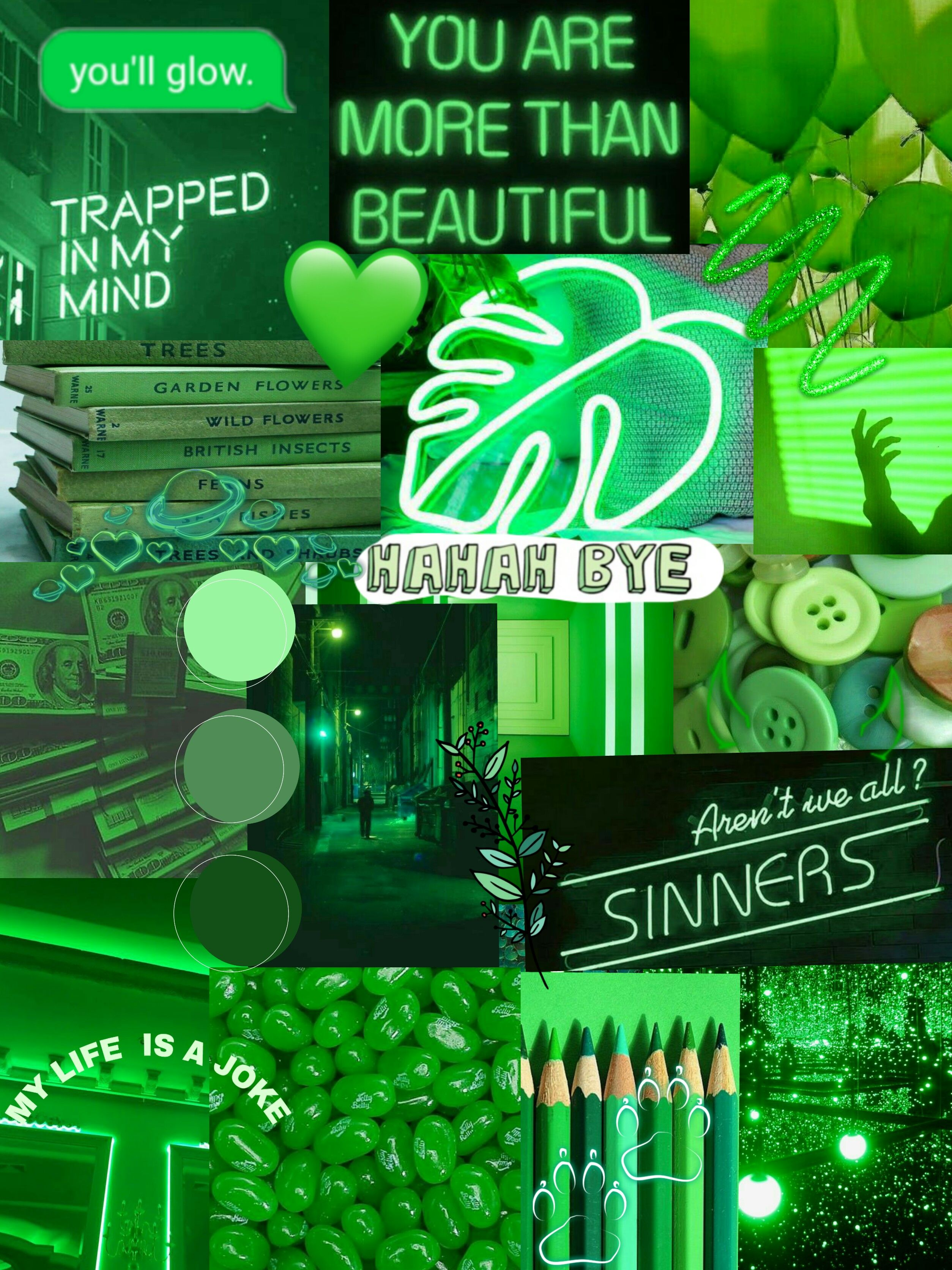 Aesthetic Light Green Wallpapers - Wallpaper Cave