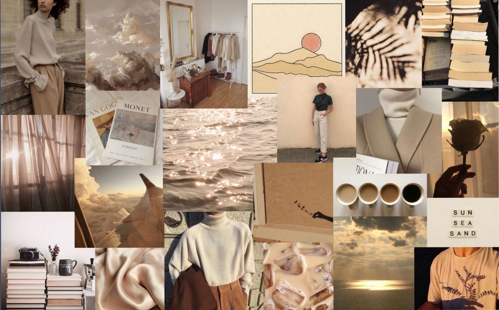 Beige Aesthetic Desktop Wallpapers Wallpaper Cave