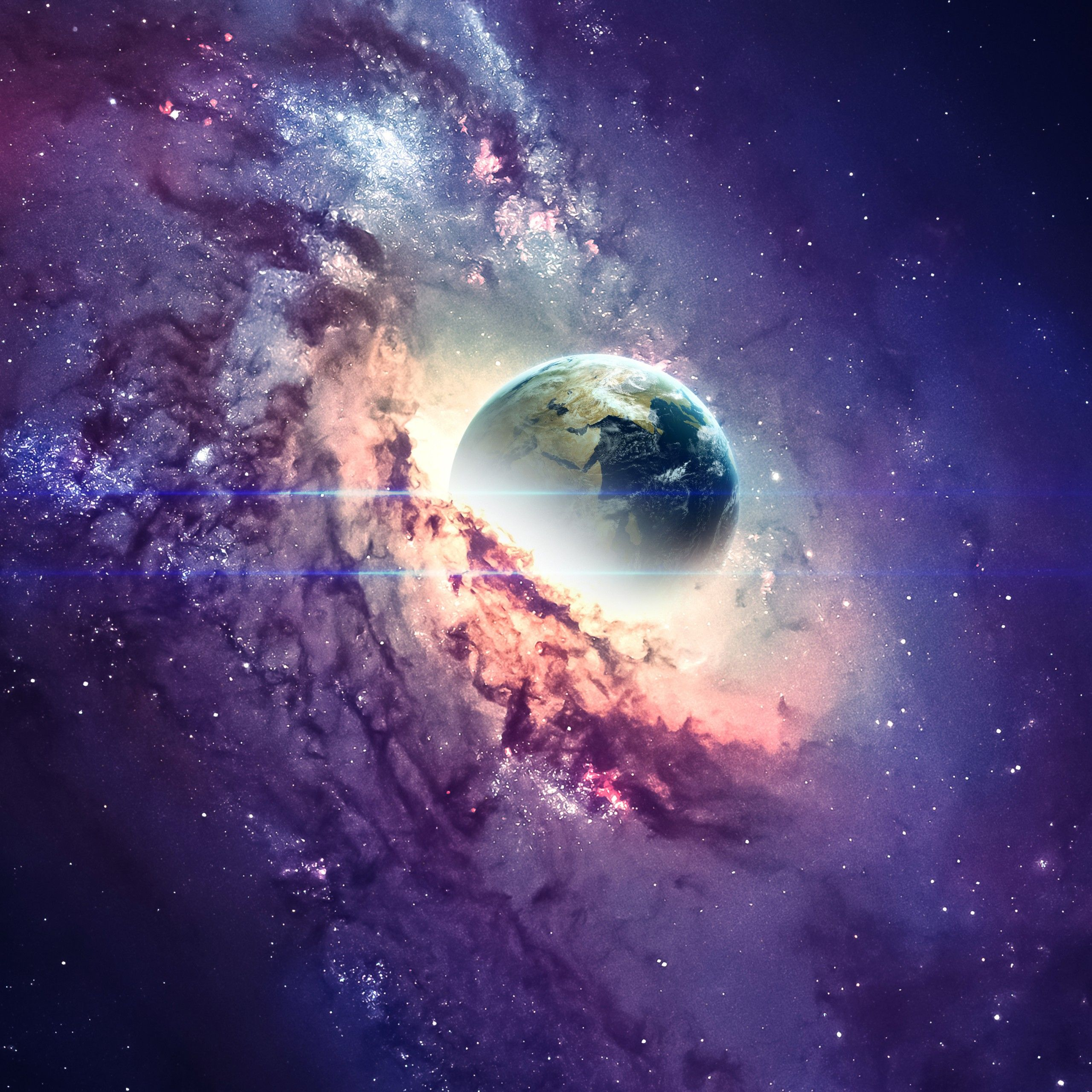 Planet Galaxy Universe Stars Wallpapers Wallpaper Cave