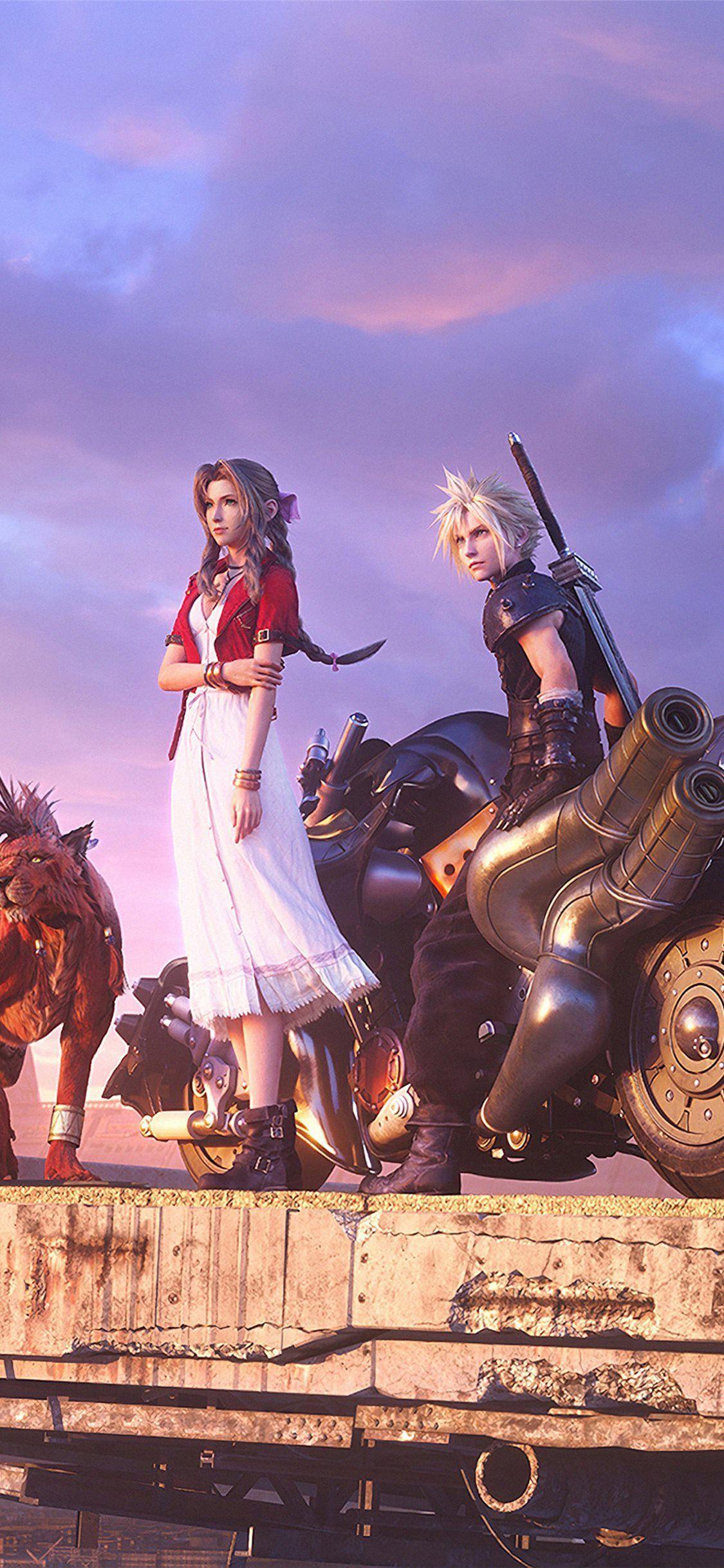 Final Fantasy 7 Remake 4k iPhone Wallpapers - Wallpaper Cave