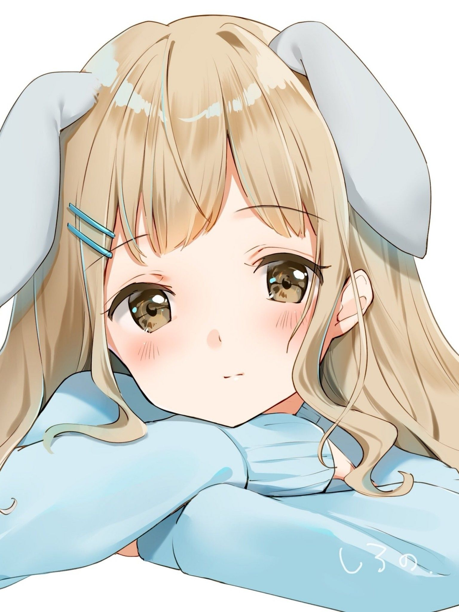 Cute Anime Girl Bunny Wallpapers - Wallpaper Cave