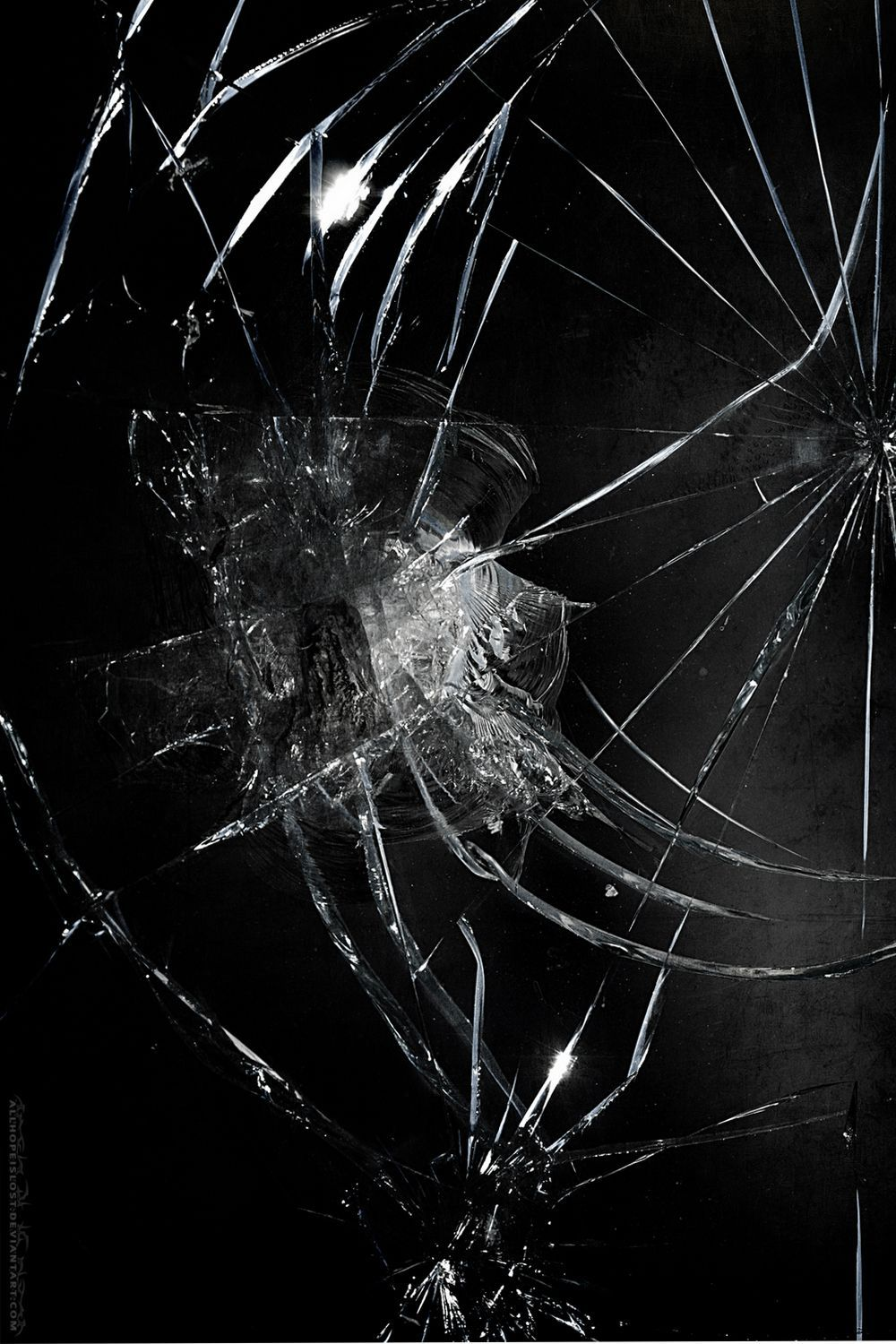 Cracked Screen 3D Phone Wallpapers - Wallpaper Cave