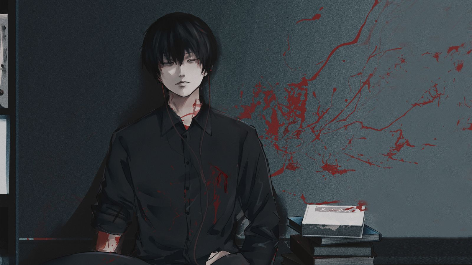 Sad Kaneki Anime Wallpapers Wallpaper Cave