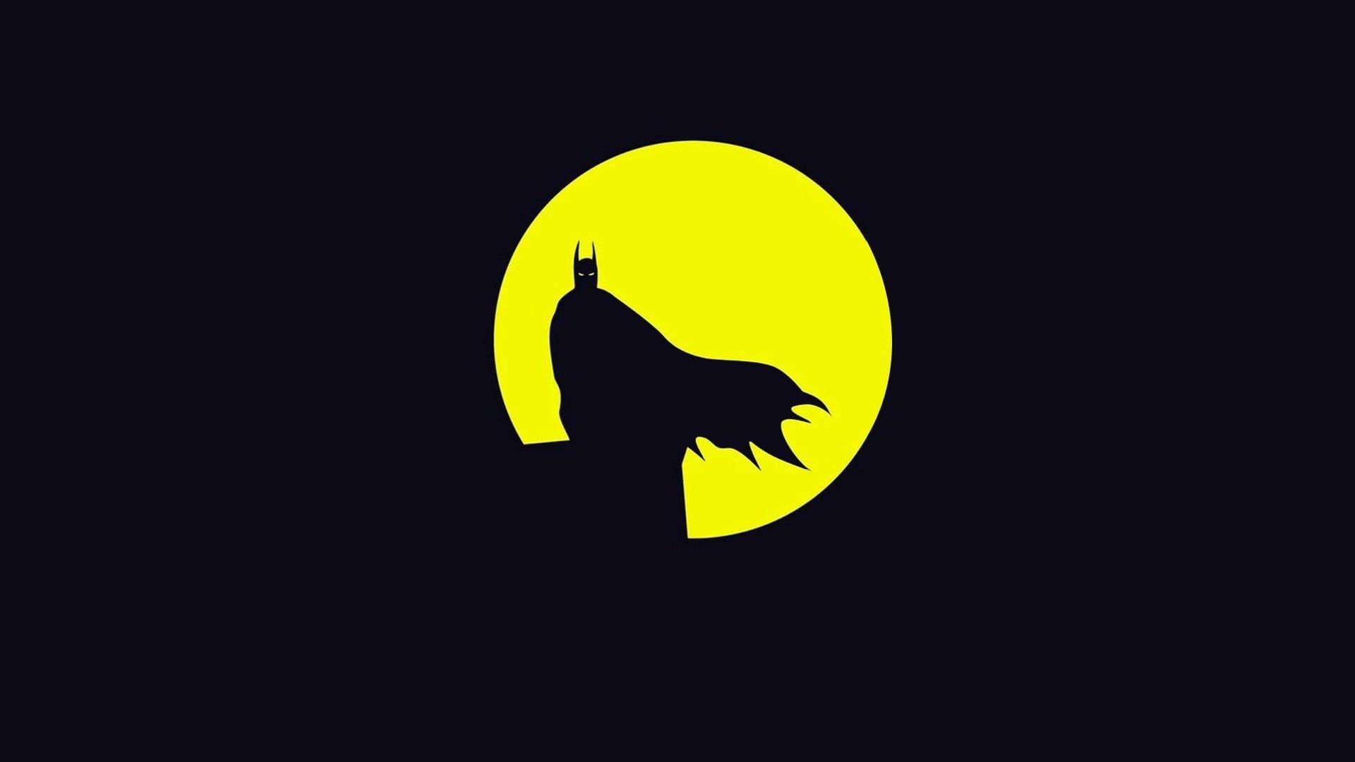 Batman Computer Black Yellow Wallpapers Wallpaper Cave