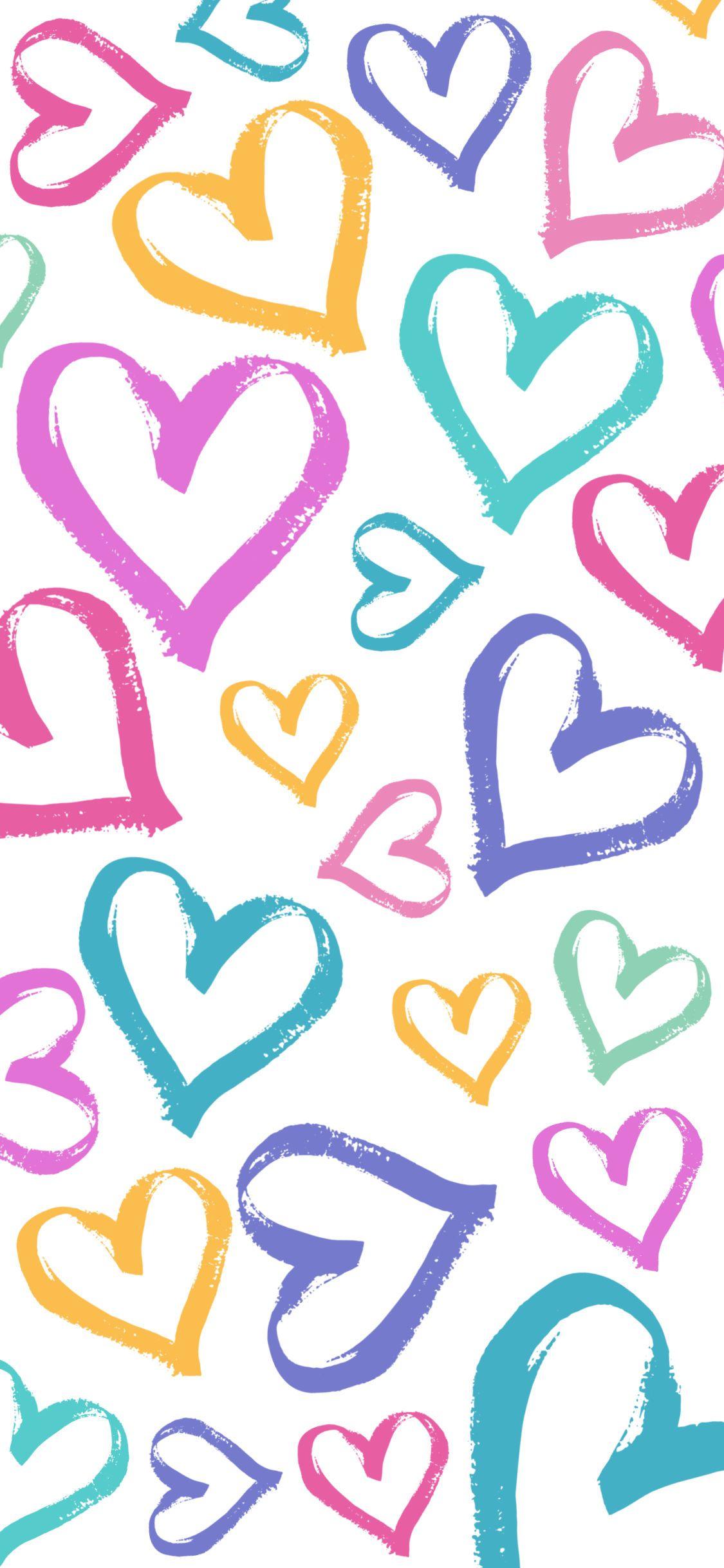 Heart Iphone Wallpapers Wallpaper Cave