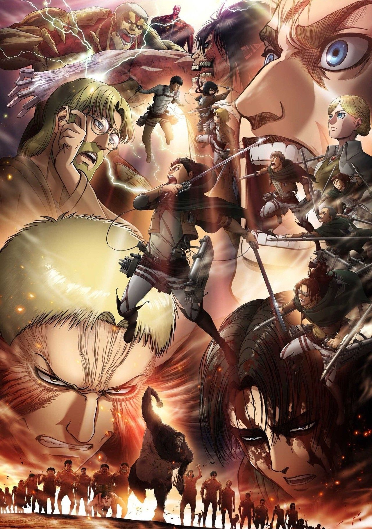 Póster SNK season 3 part 2
