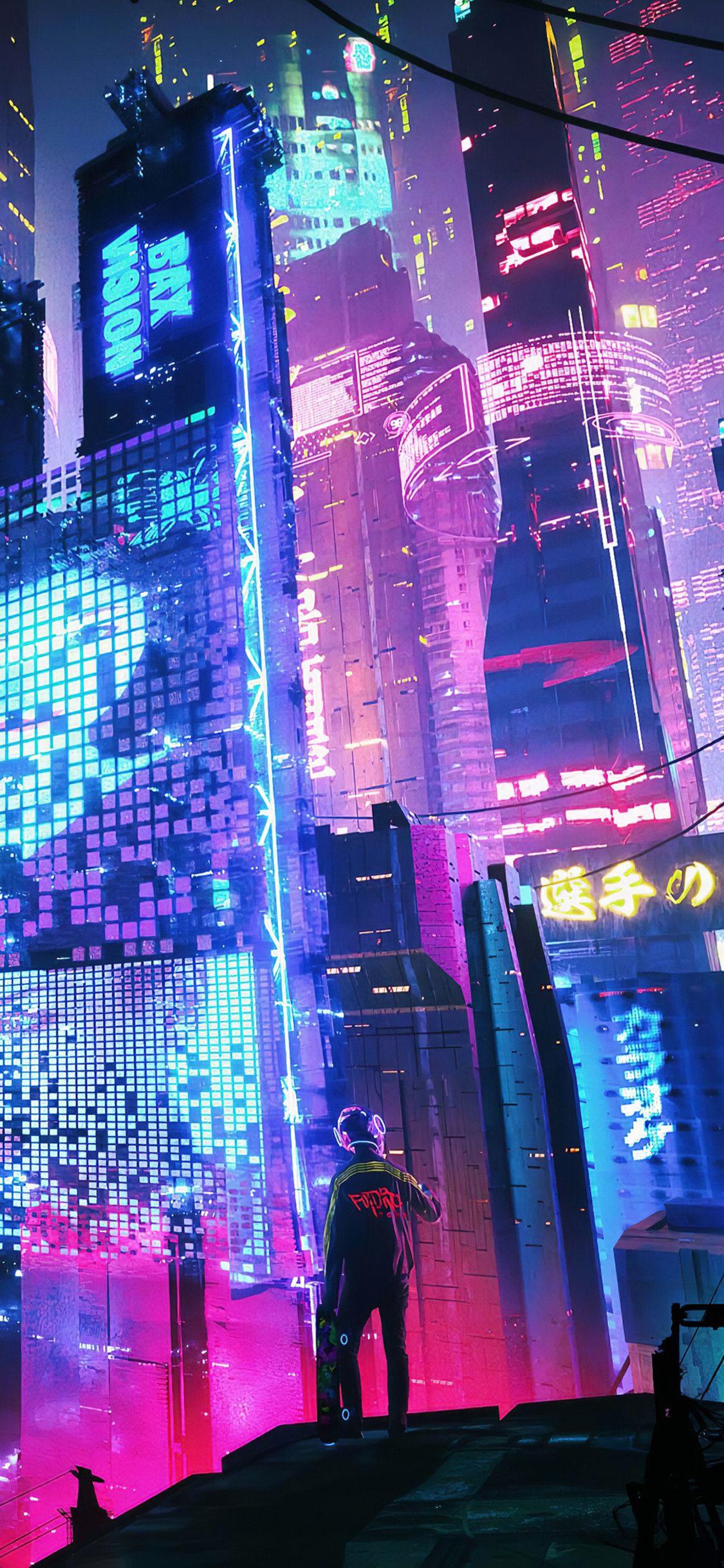 Neon 4k iPhone X Wallpapers - Wallpaper Cave
