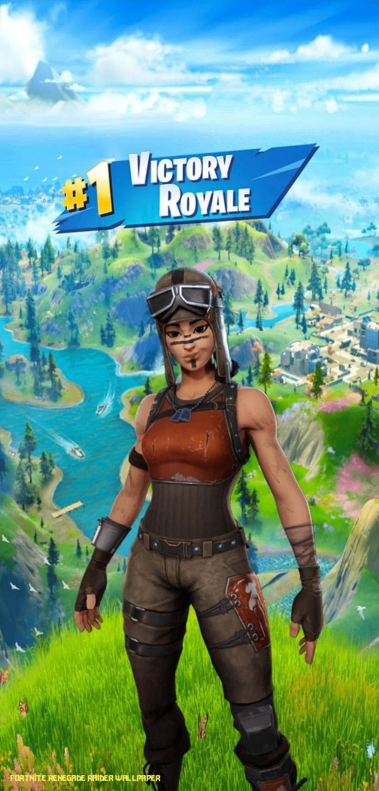 Fortnite Renegade Raider Wallpapers Wallpaper Cave
