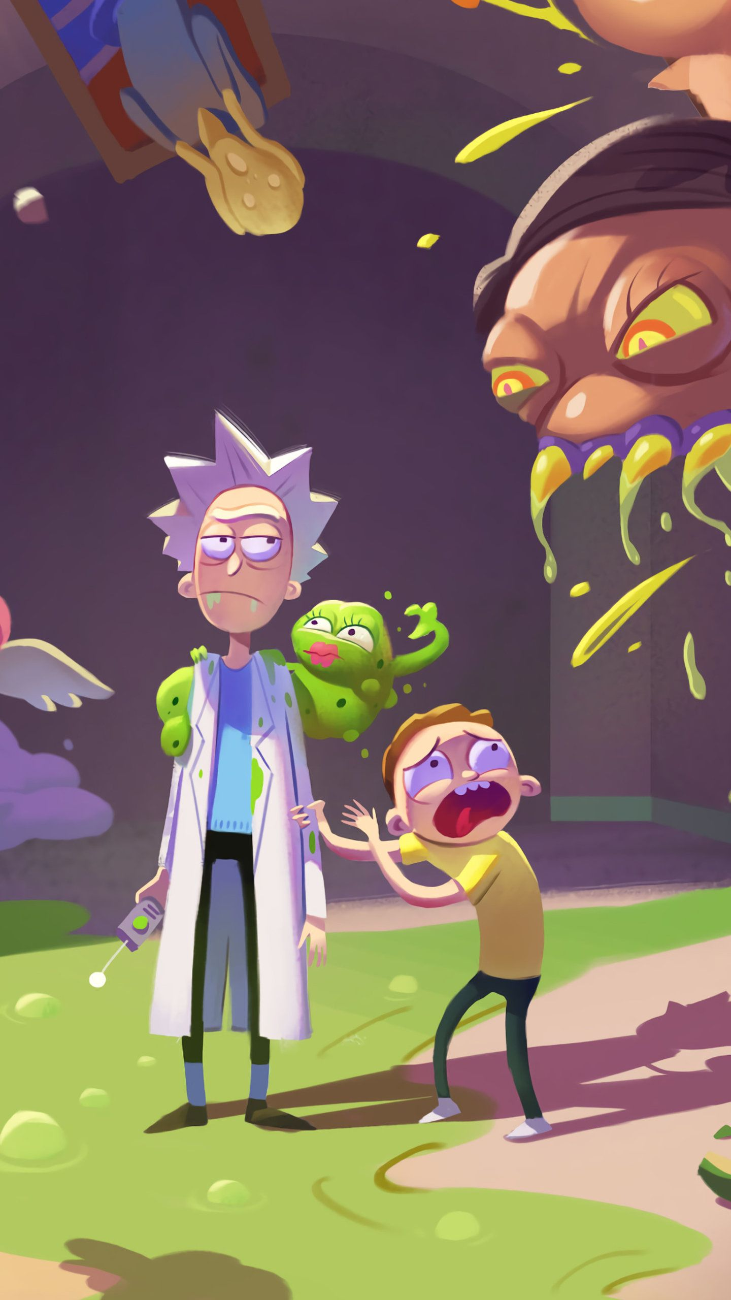 Rick And Morty Aesthetic Ps4 Wallpapers - Wallpaper Cave