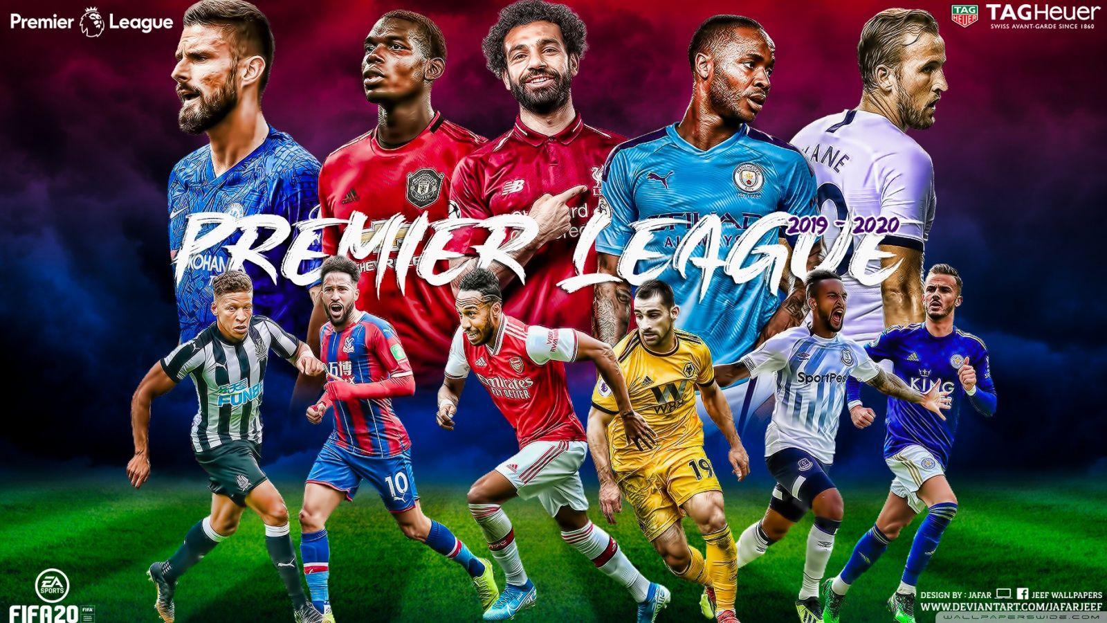 Premier Soccer Desktop Wallpapers Wallpaper Cave