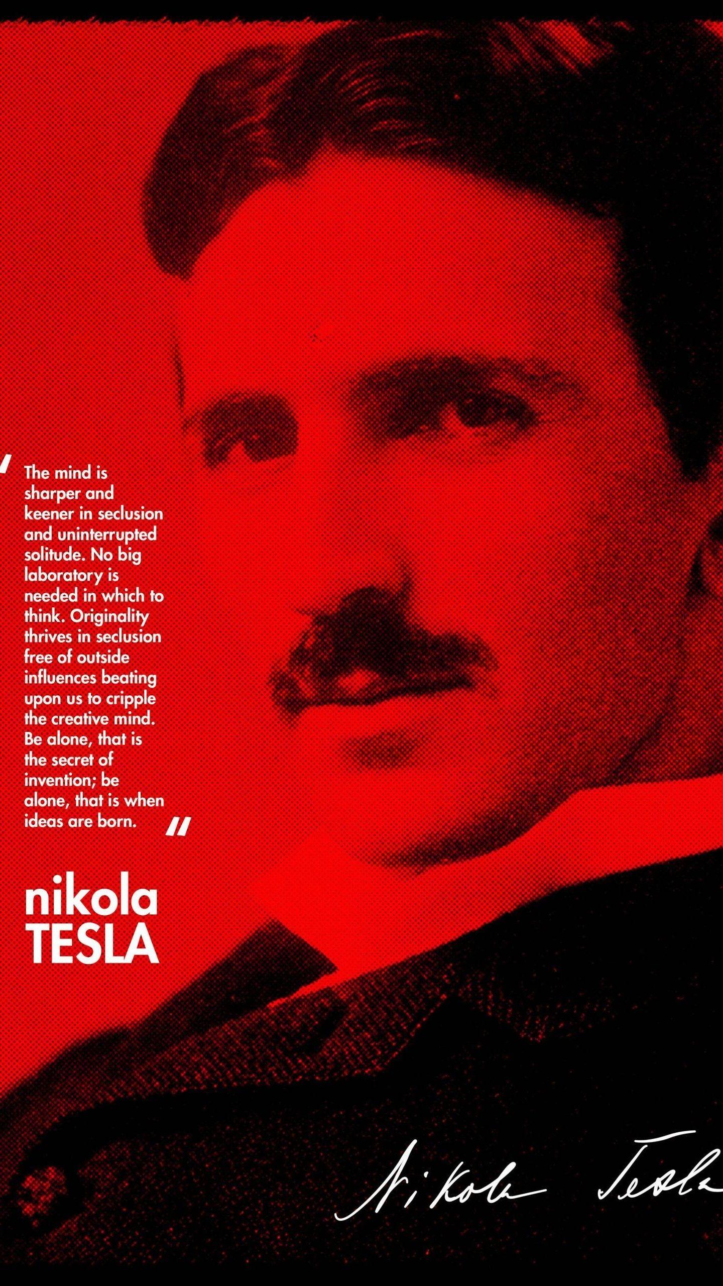 Nikola Tesla Smartphone Wallpapers - Wallpaper Cave