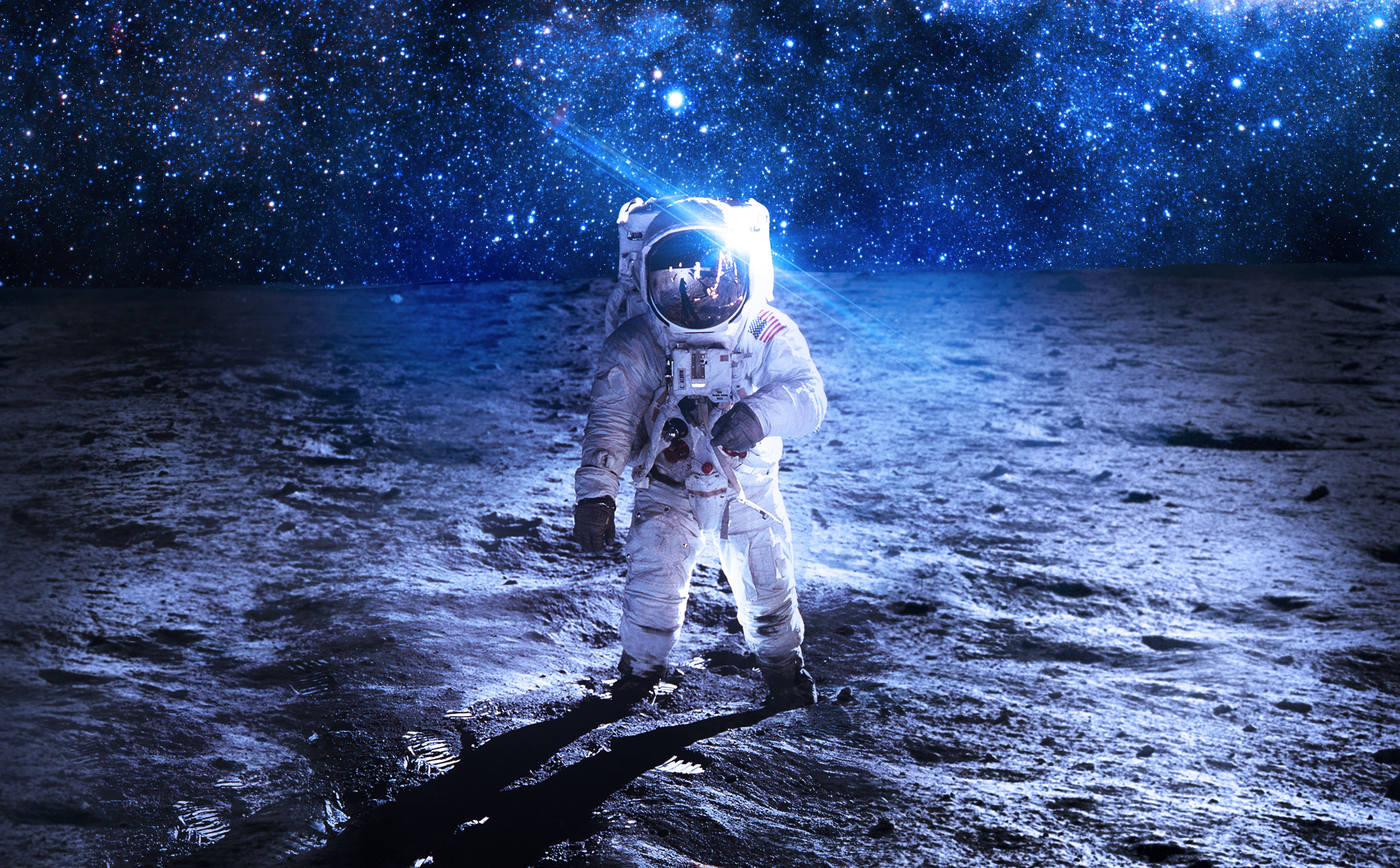 Space Astronaut Stars Wallpapers Wallpaper Cave