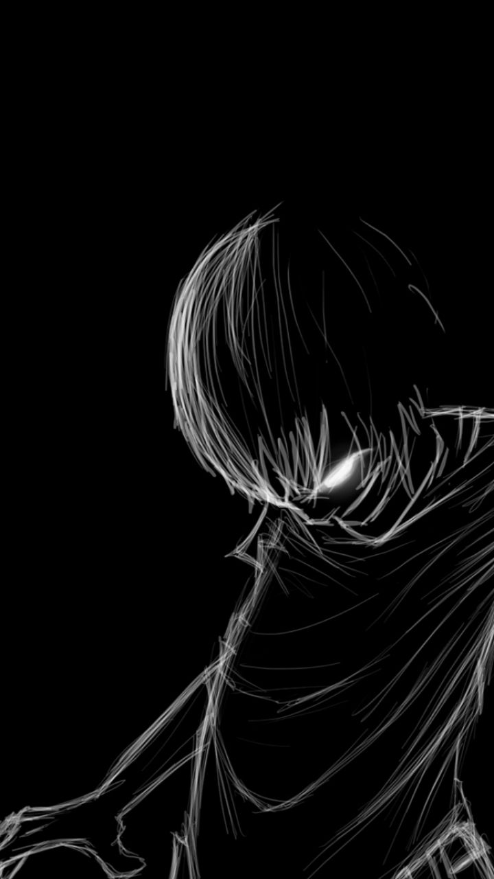 Black Anime Pic Wallpapers - Wallpaper Cave