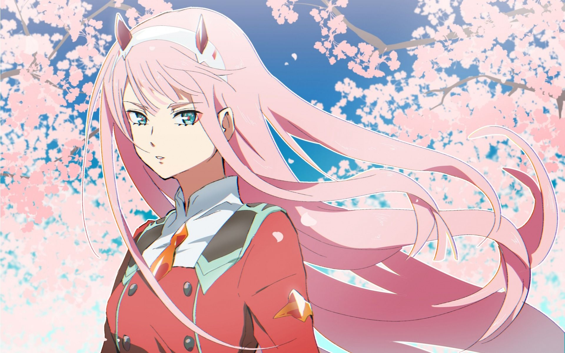 Zero Two Anime HD PC Wallpapers - Wallpaper Cave