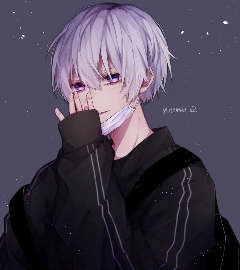 Purple Anime Boy Wallpapers - Wallpaper Cave