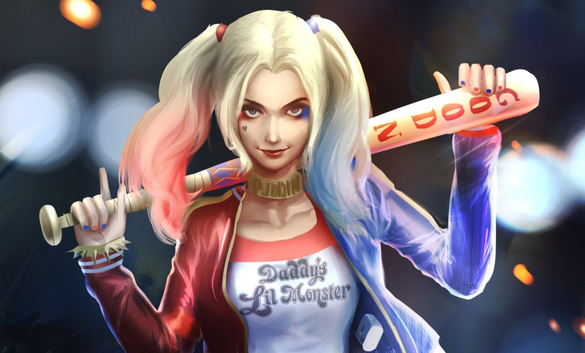 Harley Quinn Anime Wallpapers Wallpaper Cave