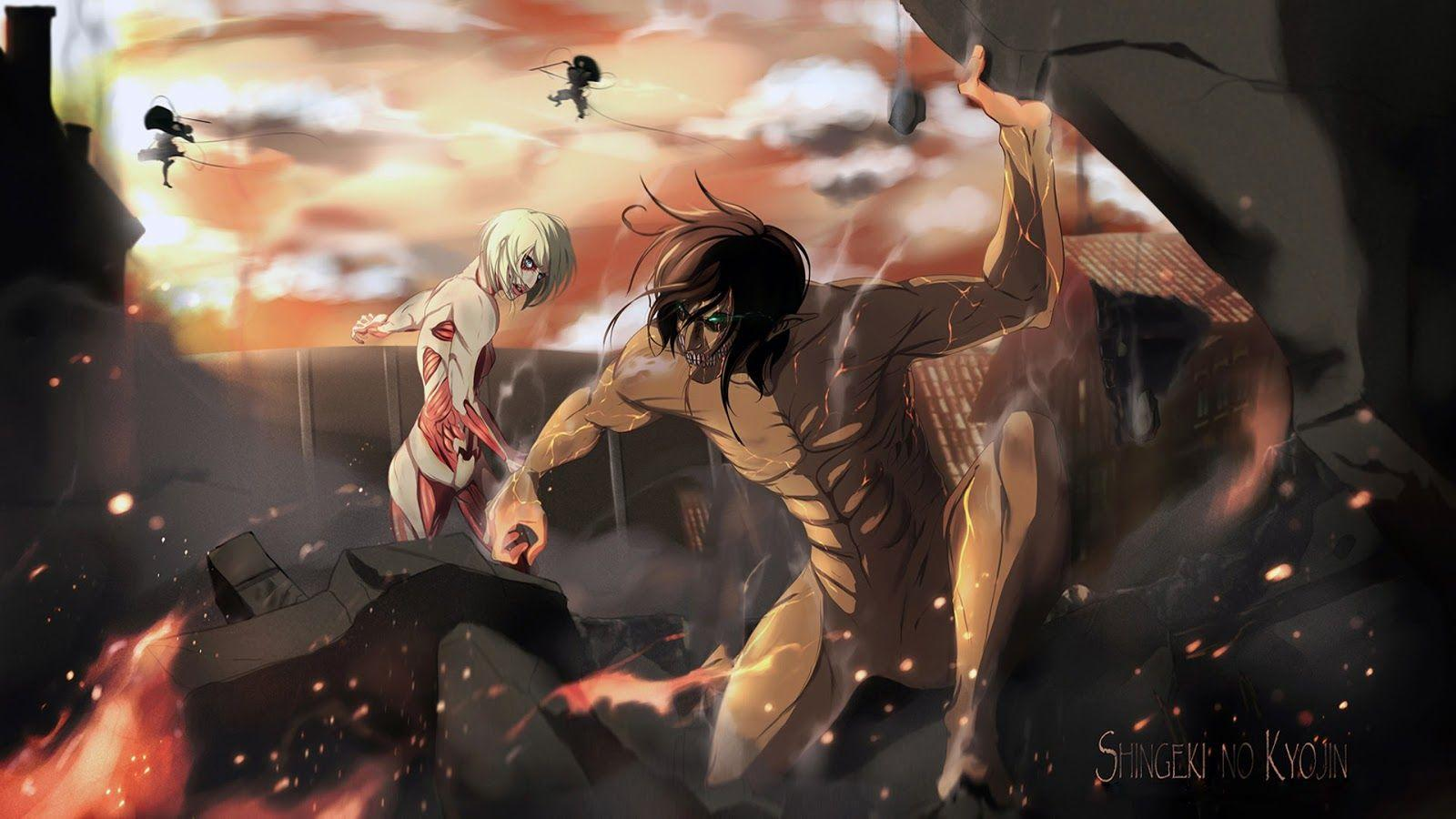 Aot Desktop Season 4 Wallpapers Wallpaper Cave