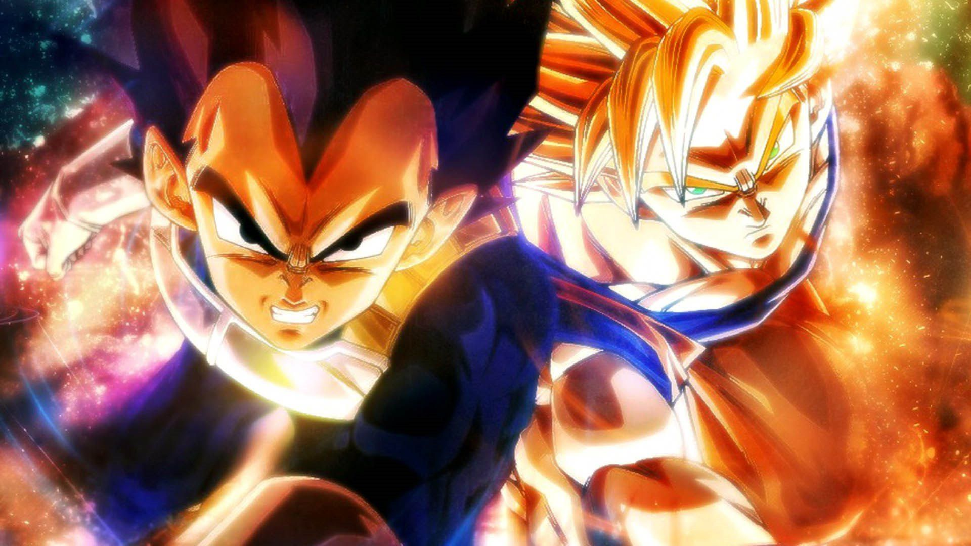Vegeta And Goku Desktop Wallpapers Wallpaper Cave