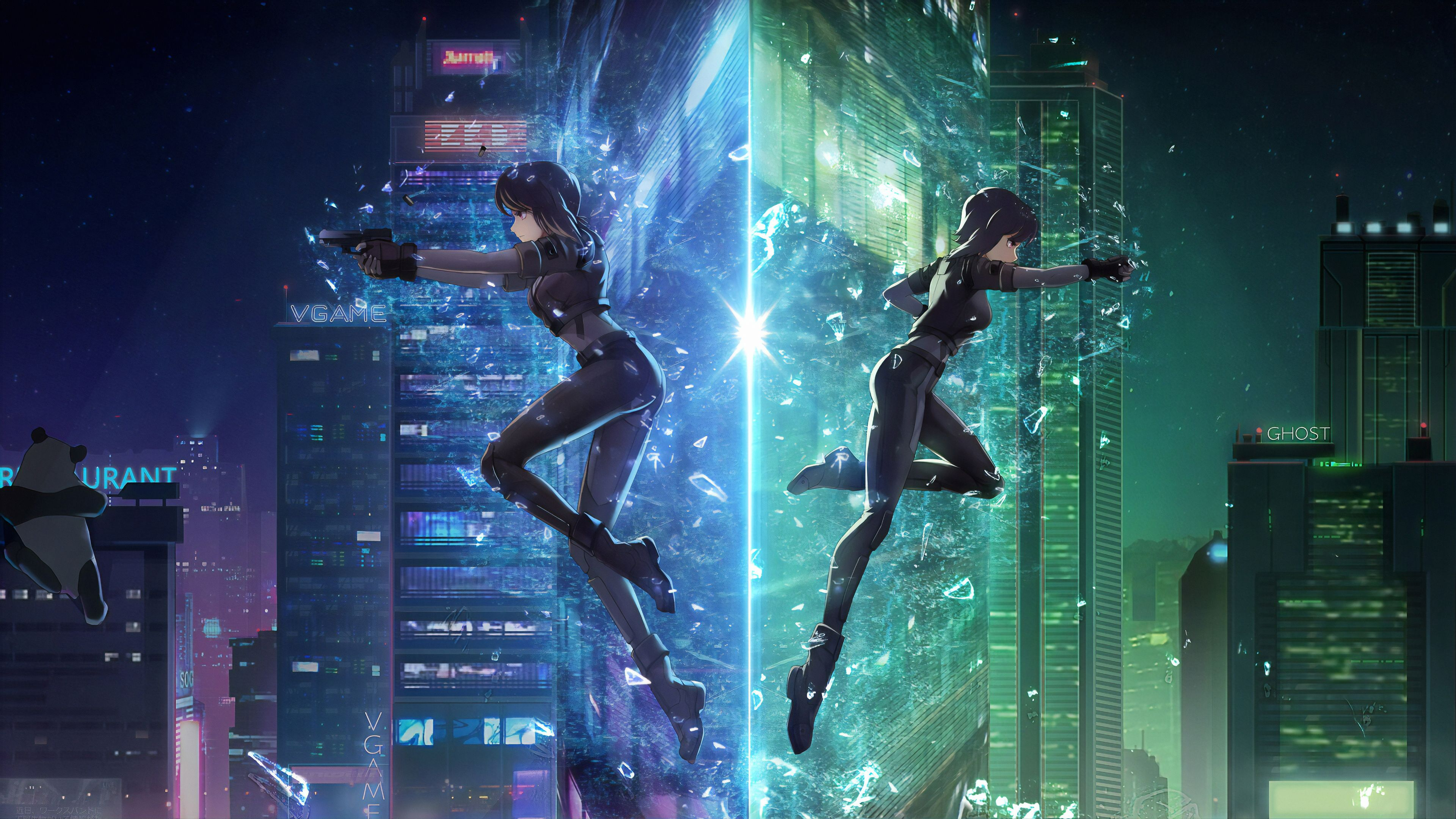 Ghost In The Shell Anime Wallpapers Wallpaper Cave
