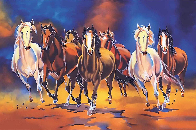 7 Horses Wallpapers Wallpaper Cave