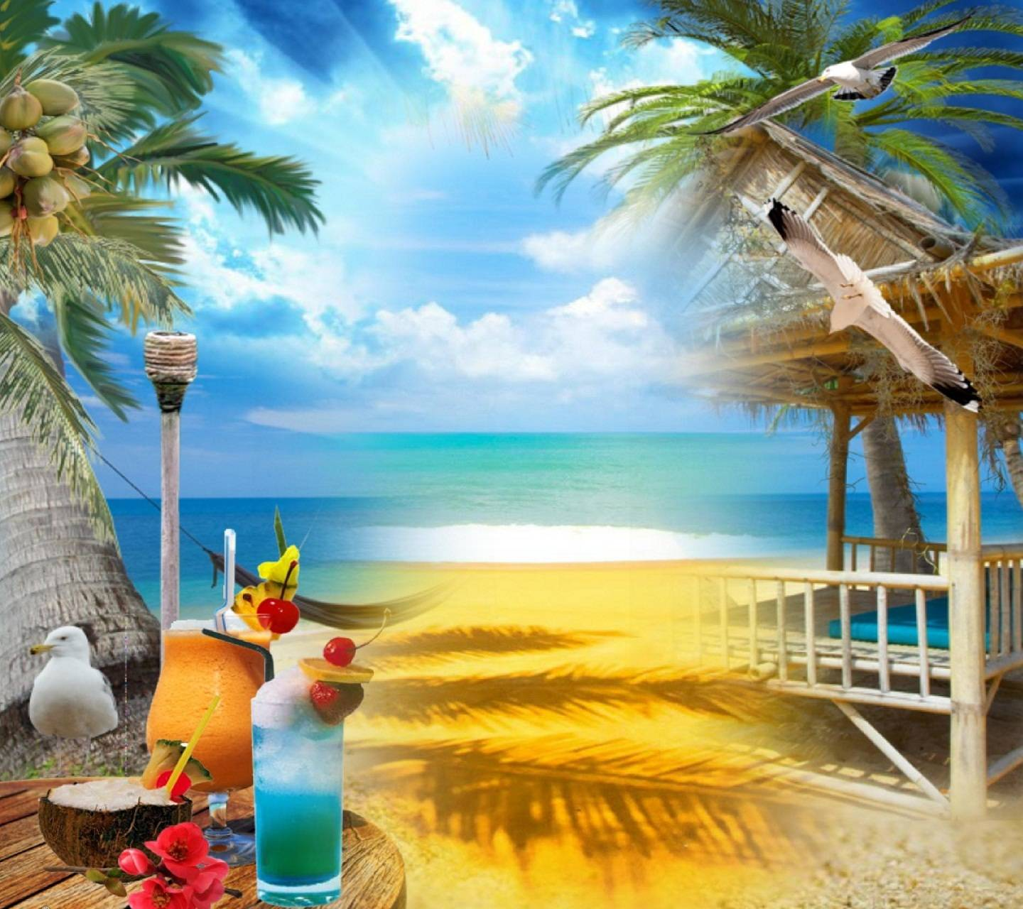 Hd Summer Beach wallpapers by _sn0w_