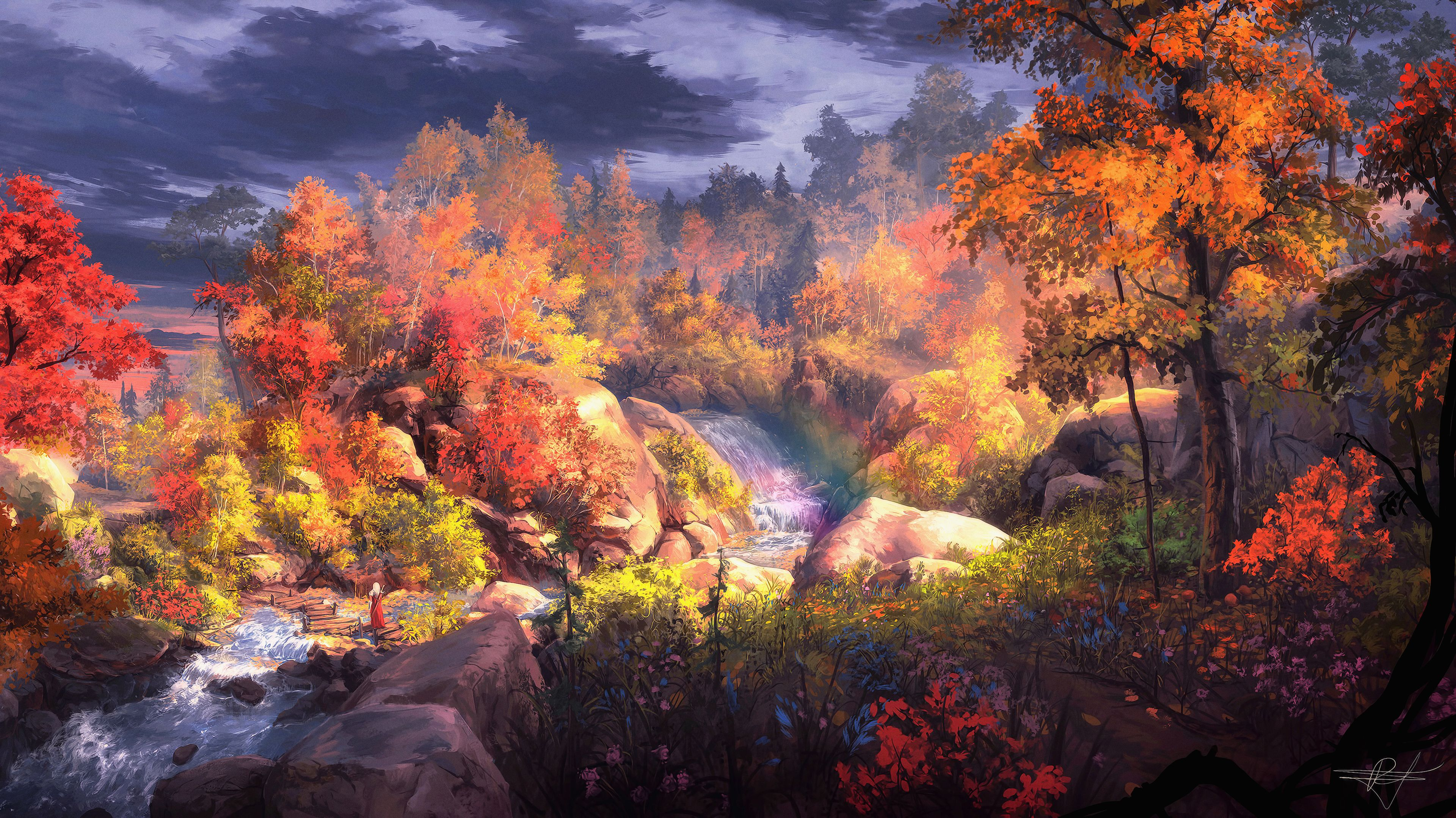 3840x2160 Autumn Wallpapers Wallpaper Cave