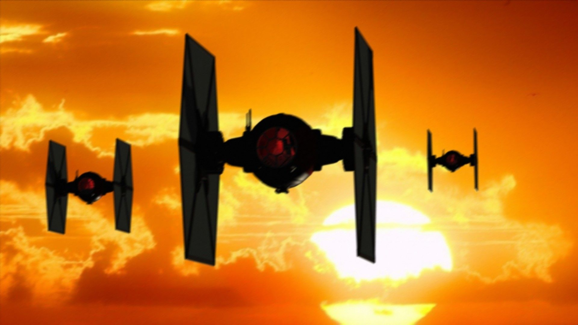 Star Wars Mobile Art Tie Fighter Wallpapers Wallpaper Cave