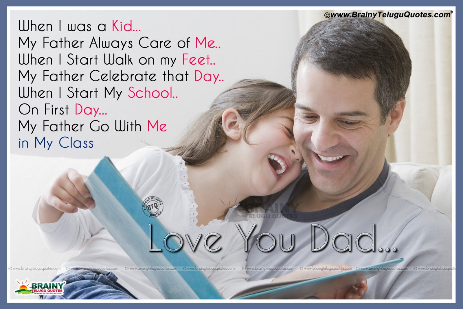 Father And Daughter Quotes Wallpapers - Wallpaper Cave