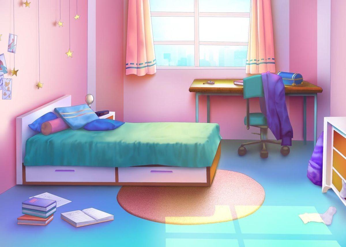 Anime Pink Bedroom Wallpapers Wallpaper Cave