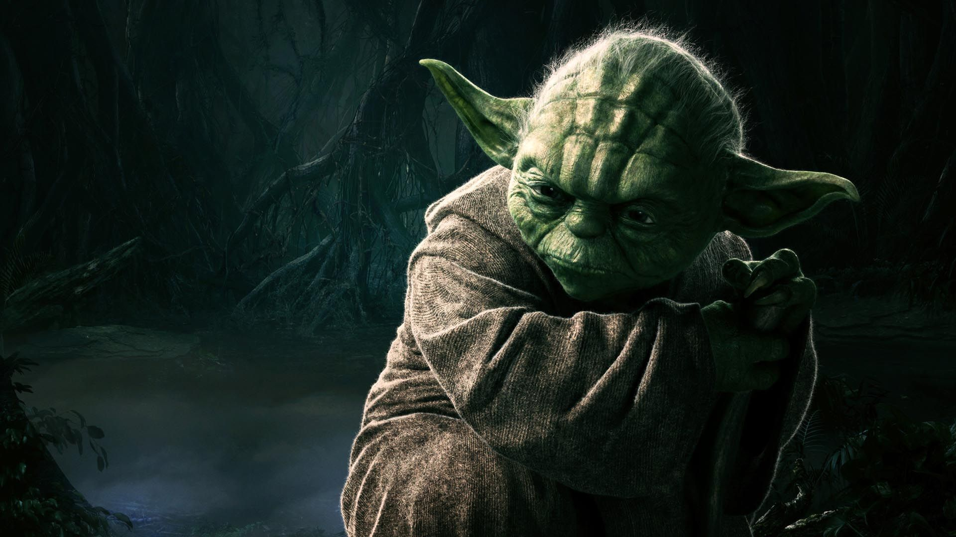 Star Wars Yoda Wallpapers Wallpaper Cave