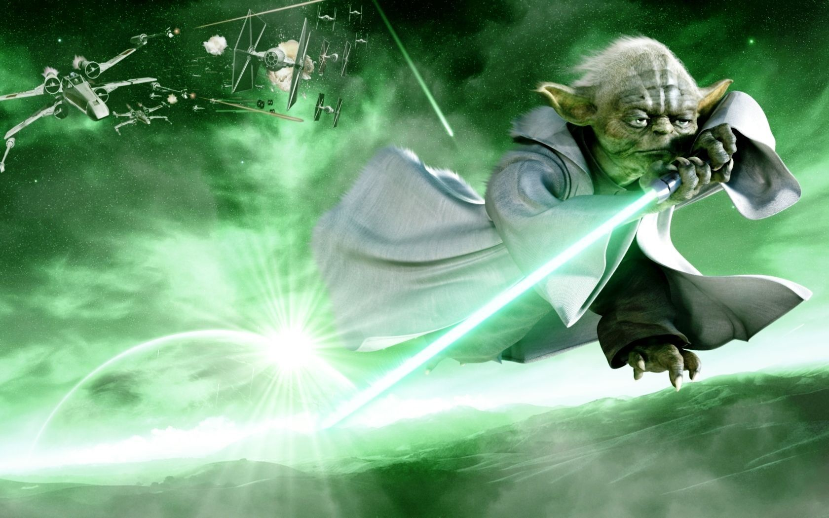 Star Wars Yoda Wallpapers Wallpaper Cave