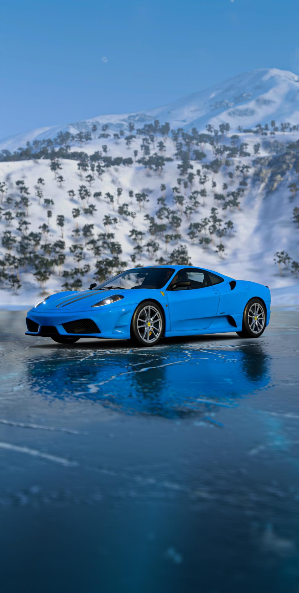 Blue Ferrari Wallpapers Wallpaper Cave